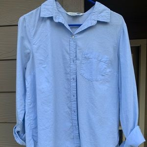 sky blue old navy button up